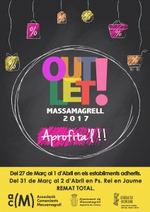 CARTEL_OUTLET_2017_MASSAMAGRELL